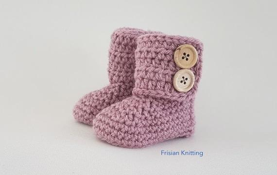 laarsjes haken crochet boots (gratis nederlands patroon