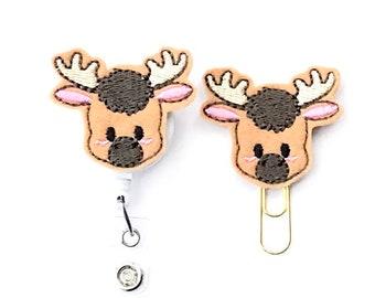 Moose Badge Reel