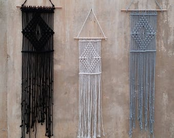 Macrame Wall Hanging, Black White Decor, Gifts For Women, Wholesale  Macrame, Wholesale Home Decor, Wholesale Boho Wall Hangings