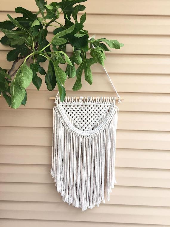 Makramee wandbehang makramee gewebten wandbehang gewebte etsy - Makramee wandbehang ...