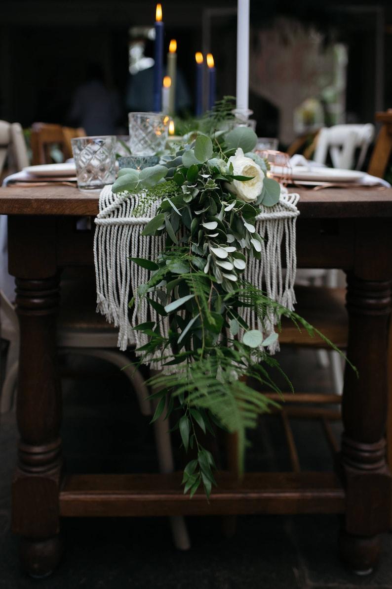 Boho Wedding Decor.Wedding Table Decor Macrame Runner Boho Wedding Decor Festival Wedding Decor Dinner Setting