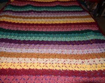 Blanket  afghan for a bed