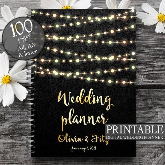 Wedding planner, Wedding binder, Wedding planner book, Wedding planner printable, Wedding binder printables, Wedding planner printables