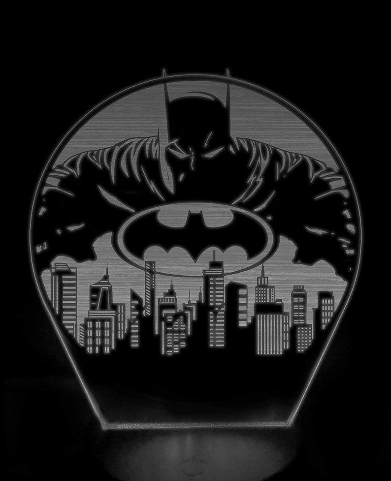 Batman Gotham 3D luce notturna xOsV2Oue