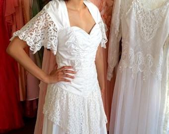 Vintage Wedding Dresses Etsy