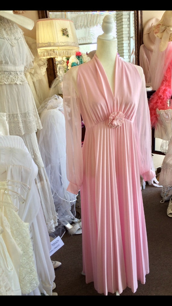 Vintage Pink Gown