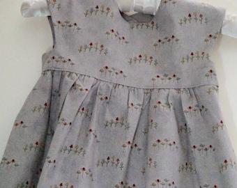 Cutie 4T Flower Geranium Dress
