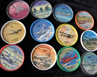 and Plane u Jello Airplane Coins Jello Picture Wheels Many Available Pick No