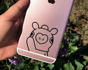 BT21 Character Decal, BTS Character Decal, Phone Decals