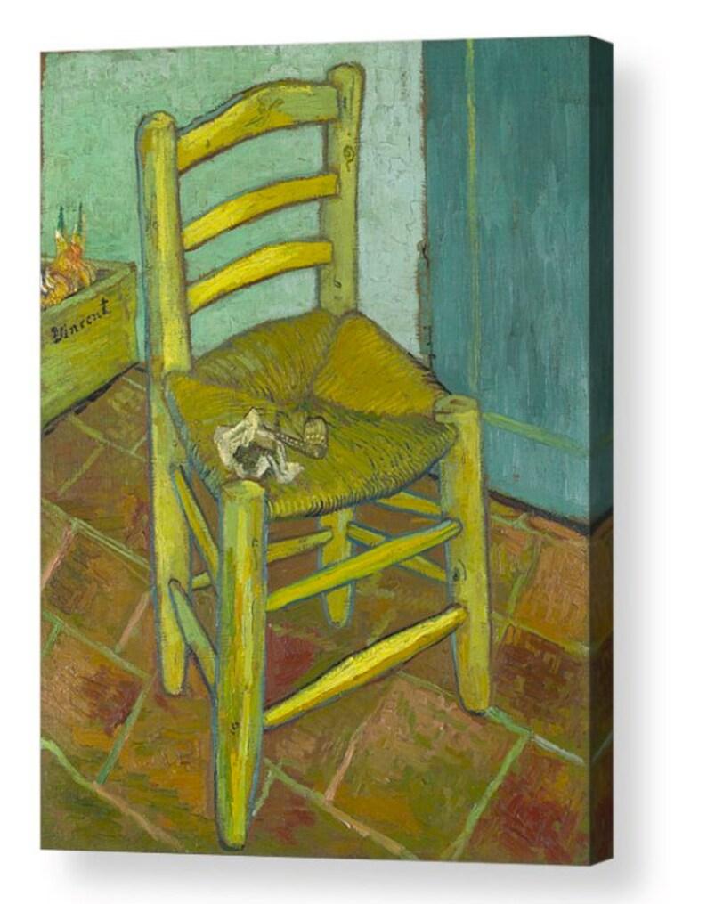671f341a12a27 Vincent Van Gogh Vincents sillón lona caja arte