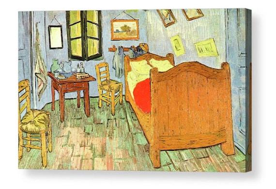Vincent Van Gogh De slaapkamer in Arles Box Art | Etsy