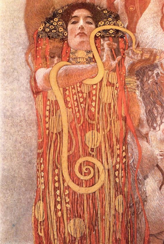 "30/"" x 20/"" Gustav Klimt /""The Tree of Life/""  Canvas Art Repro 20/"" x 14/"""