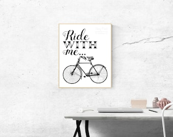 Ride with Me Print