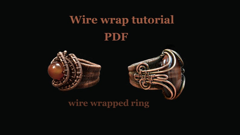 Wire wrap tutorial PDF. Wire wrapped ring. image 0