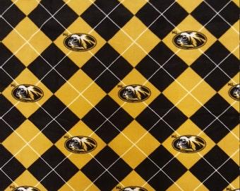 64 x 58 Mizzou Fleece Blanket -  Large