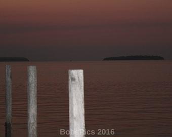 Art Photo- Anderson Pier- Door County, WI