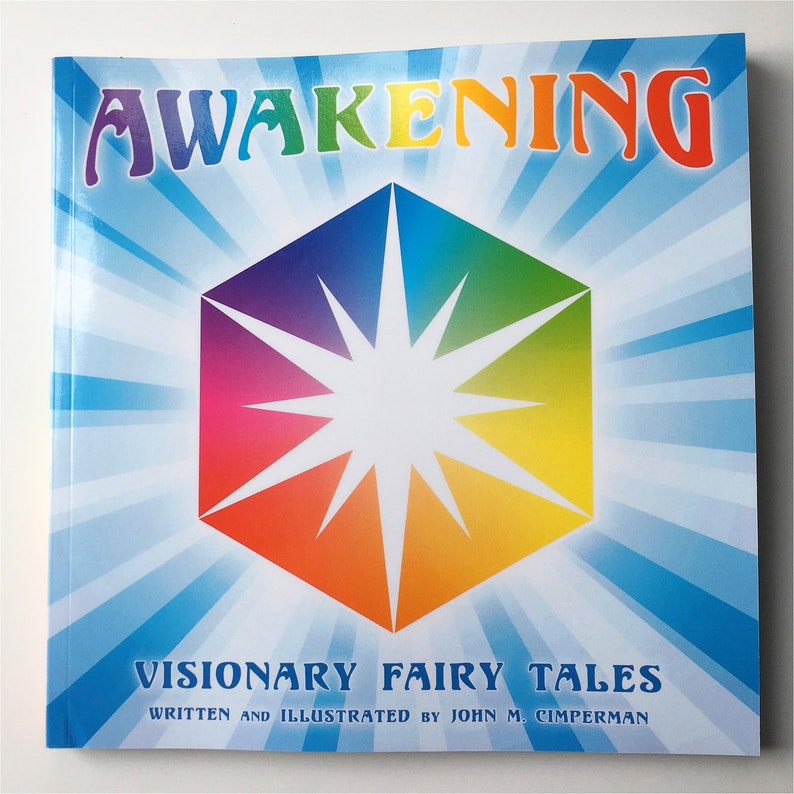 AWAKENING Illustrated Storybook/Visionary Fairy Tales by John image 0