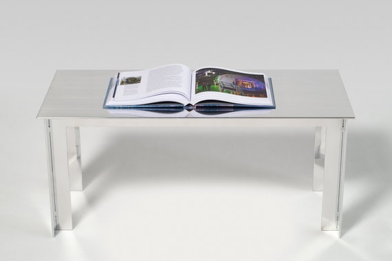 Sidetable Wit Hout.Aluminium Side Table Without Fasteners