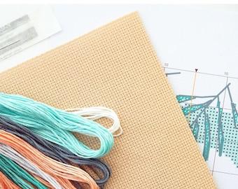 Cross Stitch Kit Production, Assembly Kit From Any Cross Stitch Pattern, DMC Floss, Embroidery Kits Manufacture