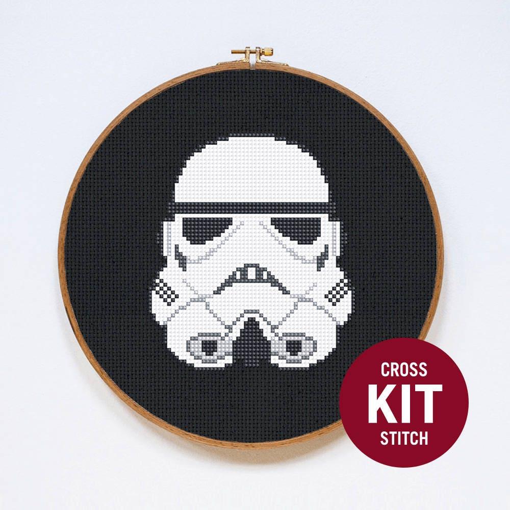 Kit de point de croix de Stormtrooper classique Star Wars | Etsy