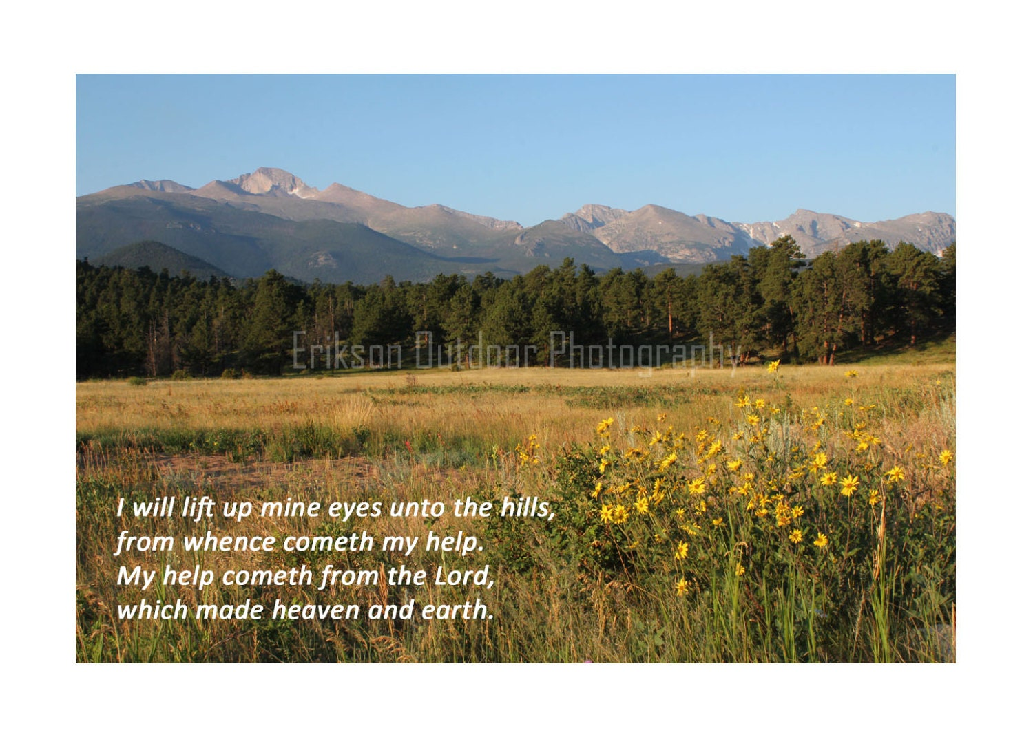 Christian Photo Card Inspirational Note Cards Scripture Etsy