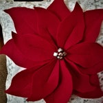 Poinsettia Pillows