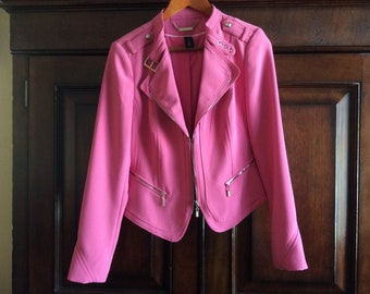 Womans pink jacket