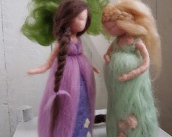 Midwife Gift Felt Figures