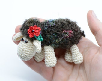 Lamb toy, Mother's day gift, little sheep for friends