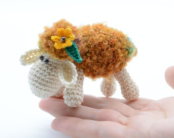 Stuffed sheep toy, home decoration gift, Mother's day gifts