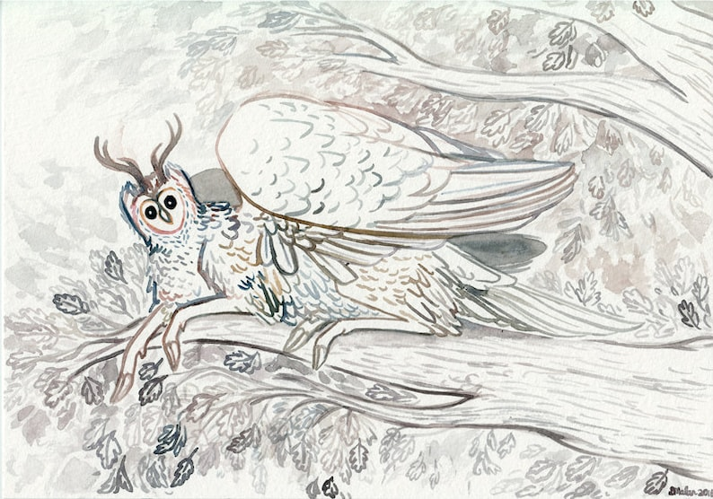 ORIGINAL  Forest Spirit image 0