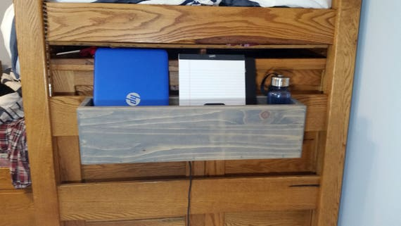 Dorm Room or Bunk Bed Pine Storage Caddy or Cubby Organizer- Made-To-Order