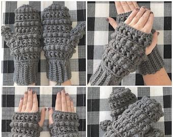Crochet Pattern -INSTANT PDF DOWNLOAD - Mittens Pattern - Crochet Mittens - Crochet Mittens Pattern - Mittens - Gloves - Gloves Pattern