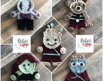 Crochet Pattern - INSTANT PDF DOWNLOAD - Pattern - Applique- Applique Pattern - Crochet Applique Pattern - Crochet