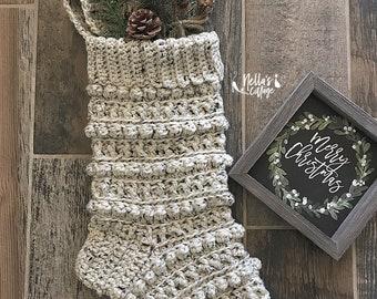 d66bb2eb51b Crochet Pattern - INSTANT PDF DOWNLOAD - Crochet Stocking Pattern - Stocking  - Christmas Stocking - Christmas Pattern - Pattern - Amara