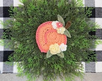 Crochet Pattern - INSTANT PDF DOWNLOAD - Nellas Cottage - Peach - Georgia Peach - Utah Peach - Crochet Peach - Boho Peach - Peaches - Fruit