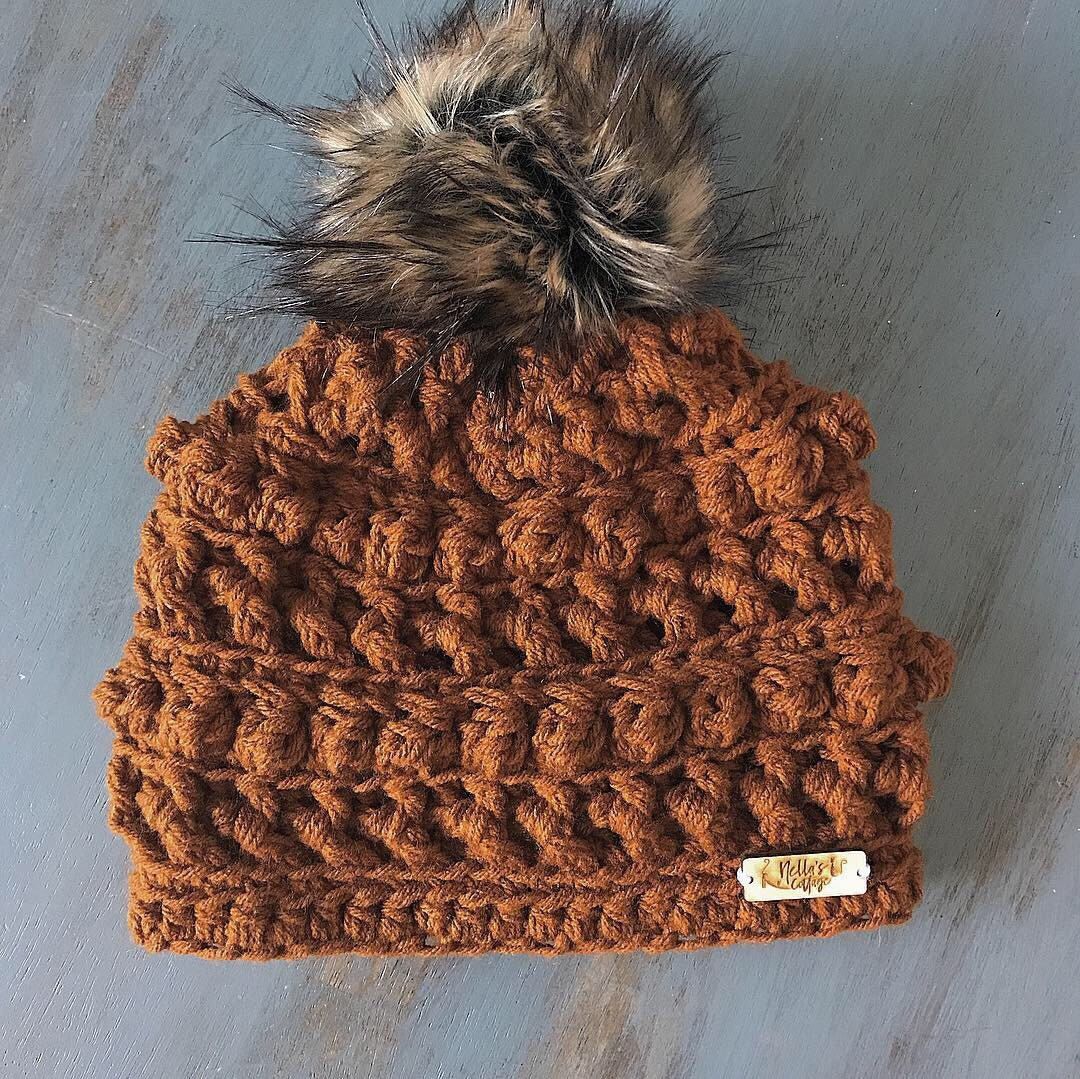 bbc0f08f0b4 Sienna Beanie - Hat - Beanie - Winter Hat - Knit Hat - Knit Beanie - Crocheted  Hat - Gifts - Chunky Knit Hat - Faux Fur Beanie - Fall