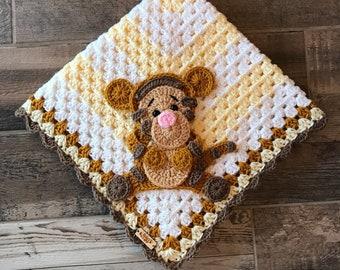 Crochet Baby Blanket -  Baby Blanket - Handmade Baby Blanket - Baby Gift