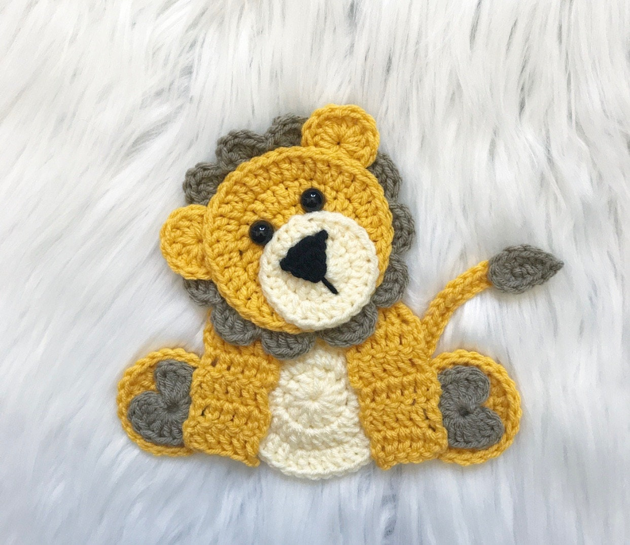 Free Baby Elephant Crochet Pattern | 1075x1242