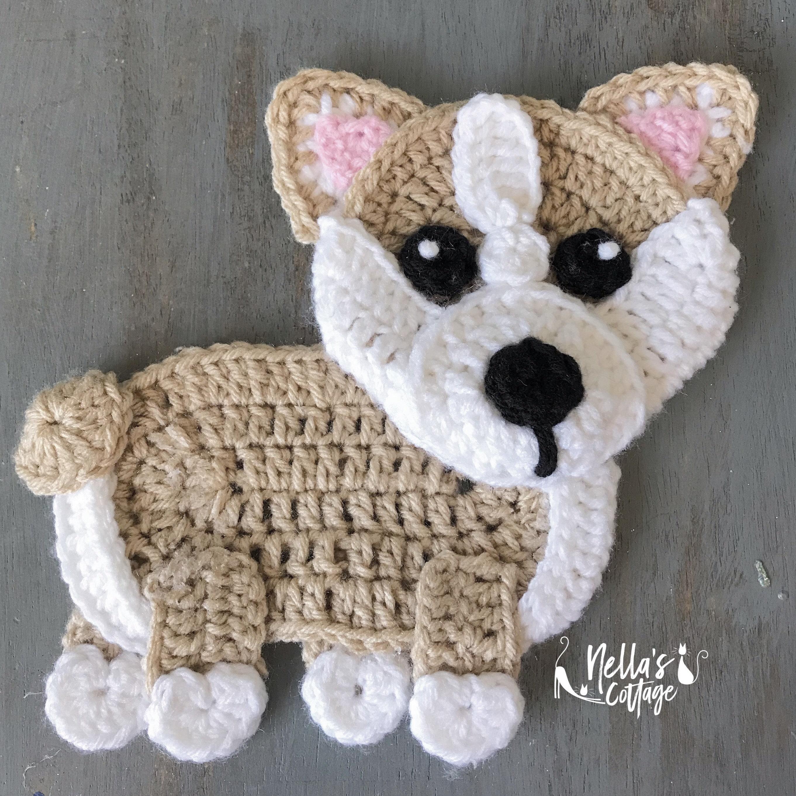 Corgi Dog Amigurumi - Free Crochet Pattern - StringyDingDing | 2724x2724
