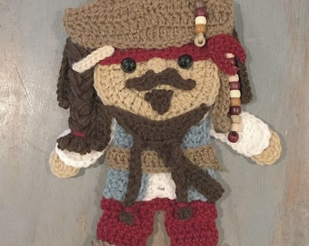 Crochet Pattern - INSTANT PDF DOWNLOAD - Pirate - Pirate Pattern - Crochet Pirate - Crochet Patterns - Patterns - Pirates - Pirate Theme