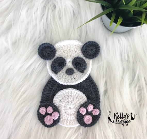 Crochet Pattern Instant Pdf Download Panda Pattern Etsy