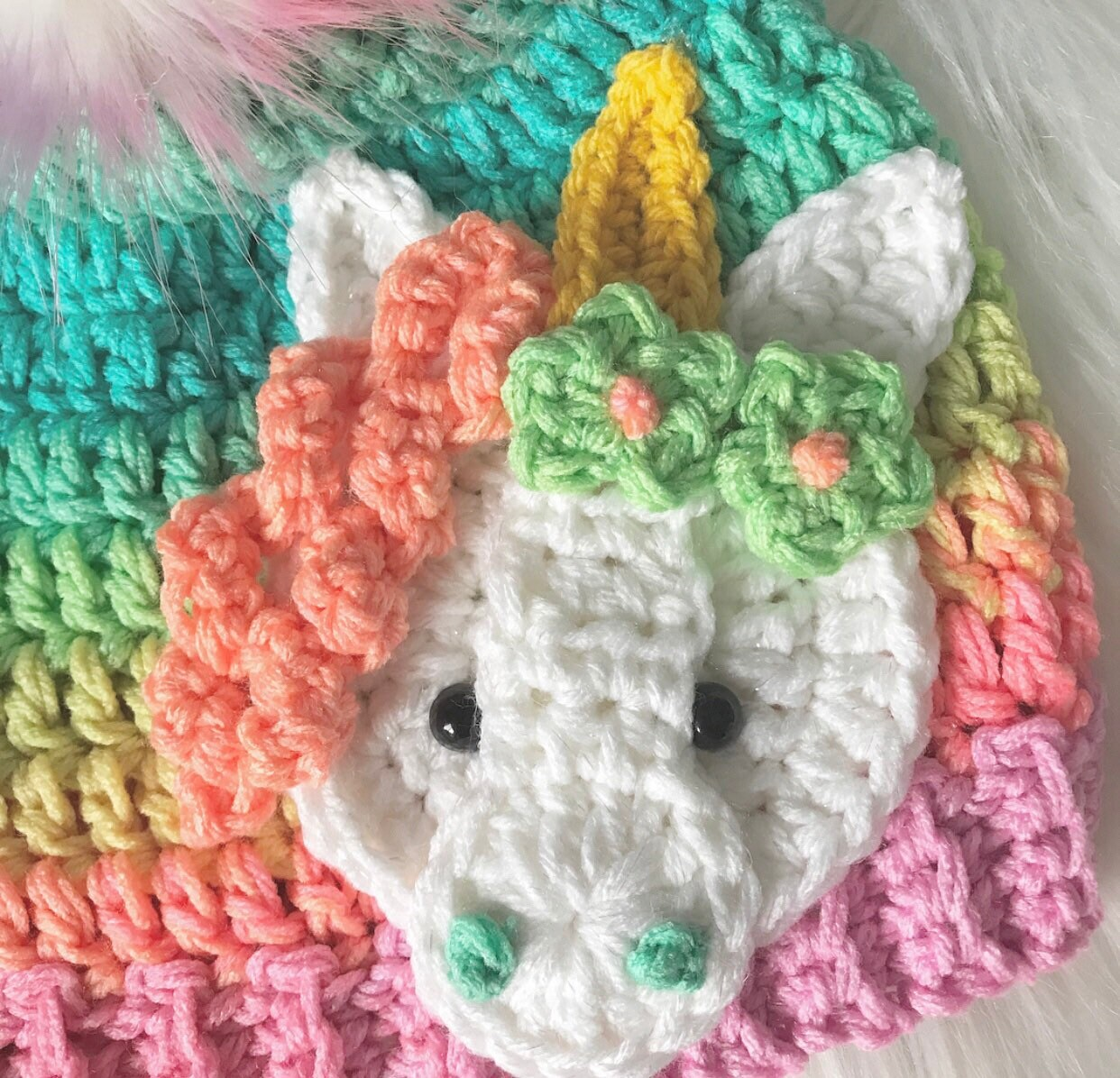 0189e7307c3f0 ... Beanie - Hat - Ombre - Gifts for Her - Unicorn Hat - Unicorn Hats -  Crochet. gallery photo gallery photo gallery photo gallery photo gallery  photo ...