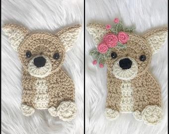 Crochet Pattern - INSTANT PDF DOWNLOAD - Pattern - Chihuahua Pattern - Nellas Cottage - Crochet Chihuahua Pattern - Crochet Dogs - Dog