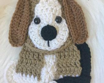 Crochet Pattern - INSTANT PDF DOWNLOAD - Nellas Cottage - Beagle - Dog - Crochet Beagle - Crochet Dog Pattern - Pattern - Beagle Pattern