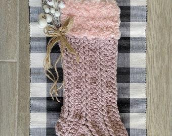 Crochet Pattern - INSTANT PDF DOWNLOAD - Crochet Stocking Pattern - Stocking - Christmas Stocking - Christmas Pattern - Pattern - Berlin