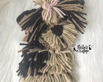 Crochet Pattern - INSTANT PDF DOWNLOAD - Yorkie - Yorkie Pattern - Crochet Yorkie - Crochet Dog - Puppy - Dog Pattern - Crochet