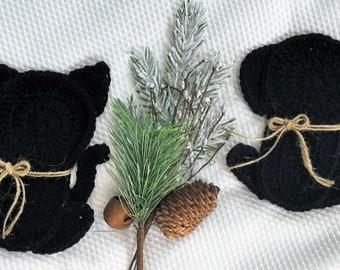 Crochet Pattern - INSTANT PDF DOWNLOAD - Cat Pattern - Crochet Cat - Silhouette - Cat Silhouette - Dog Silhouette - Crochet Silhouette