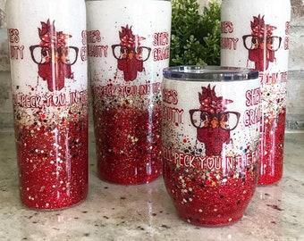 Custom Cup - Coffee Cup - Tumbler - Custom Tumbler - Glitter Tumbler - Nellas Cottage Tumblers - Cups - Mugs - Coffee - Wine - Gift Ideas