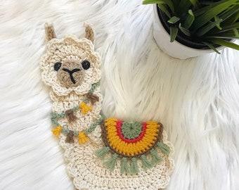 Crochet Pattern - INSTANT PDF DOWNLOAD - Boho Llama - Llama Pattern - Llama - Crochet Llama - Crochet - Pattern - Llama Appliqué